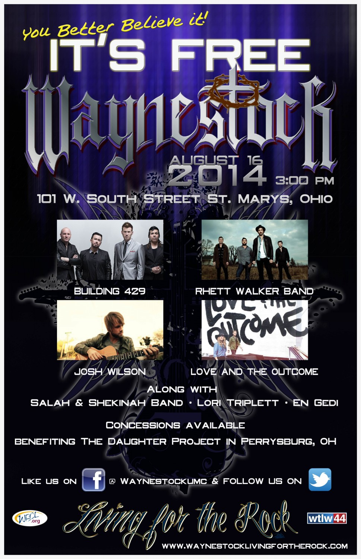 Waynestock Poster 2014